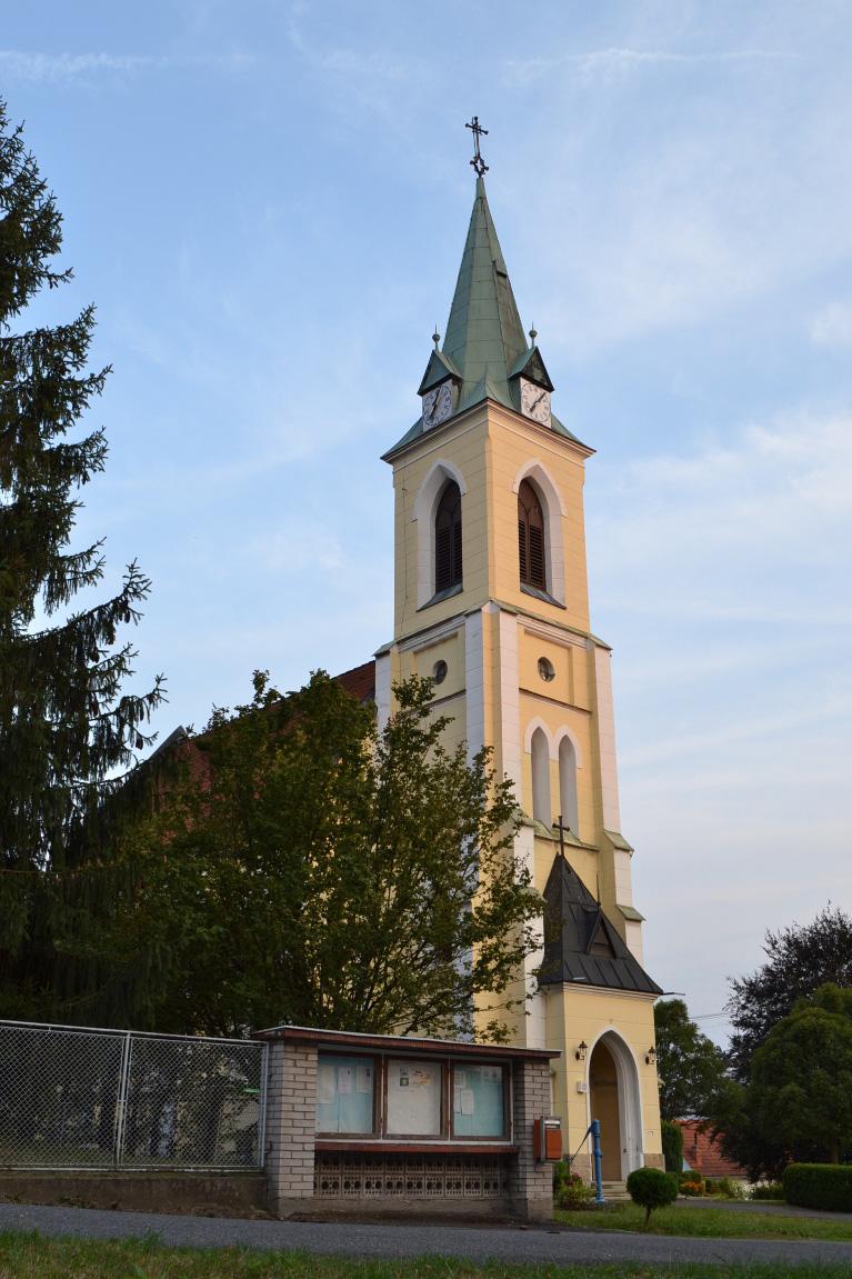 Kostel Srdce Panny Marie z r. 1898